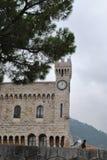 Torre de vigia do castelo de Mônaco Imagem de Stock Royalty Free
