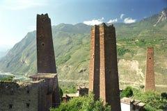 A torre de vigia em Danba Imagens de Stock Royalty Free
