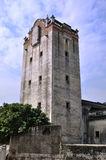 Torre de vigia envelhecida no campo de China do sul Fotos de Stock