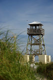 Torre de vigia histórica da segunda guerra mundial Imagens de Stock Royalty Free