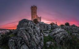 A torre de vigia fotos de stock royalty free
