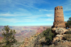 Torre de vigia na garganta grande Imagem de Stock Royalty Free
