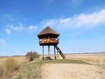Torre de vigia no monte Imagem de Stock Royalty Free