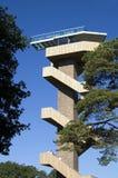Torre de vigia no ponto o mais alto nos Países Baixos, Vaals Fotografia de Stock