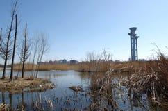 Torre de visita turístico de excursión Imagen de archivo libre de regalías