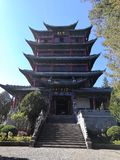 a torre de Wanggu fotos de stock royalty free