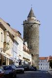 Torre de Wendish de Bautzen em Alemanha imagens de stock