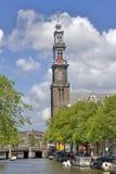 Torre de Westerkerk em Amsterdão Fotos de Stock