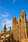 Torre de Westminster cerca de Big Ben en Londres Imagenes de archivo