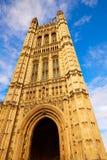 Torre de Westminster cerca de Big Ben en Londres Fotografía de archivo