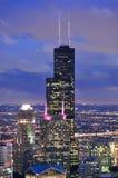 Torre de Willis en Chicago imagenes de archivo