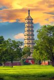 Torre de Yongyoushi, Chengde, China Imagenes de archivo