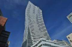 Torre de Z?ota en Varsovia imagen de archivo