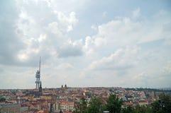 Torre de Zizkov foto de archivo libre de regalías