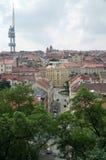 Torre de Zizkov fotografía de archivo