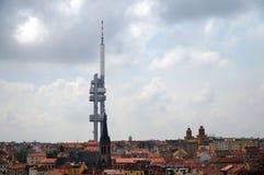 Torre de Zizkov foto de archivo