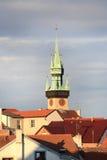 Torre de Znojmo, Moravia Imágenes de archivo libres de regalías
