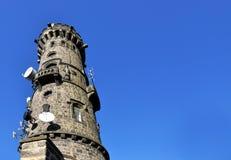 Torre Decinsky Sneznik da vista Foto de Stock Royalty Free
