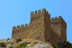 Torre defensiva de piedra antigua Imágenes de archivo libres de regalías