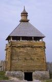 Torre defensiva velha Fotografia de Stock