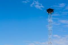 Torre degli altoparlanti Fotografia Stock