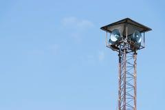 Torre degli altoparlanti Fotografie Stock
