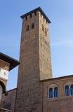 Torre degli Anziani在帕多瓦 免版税库存图片