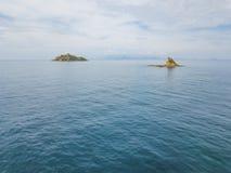 Torre Degli Appiani Νησί σε Punta ΑΛΑ Τοπίο της Ιταλίας στοκ φωτογραφία