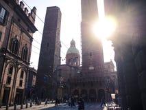 Torre-degli Asinelli Stockbild