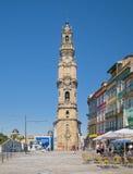 Torre degli ecclesiastici a Oporto Fotografia Stock Libera da Diritti