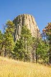 Torre dei diavoli Fotografia Stock