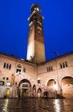 Torre dei Lamberti, Verona Stock Images