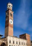 Torre dei Lamberti, Verona Zdjęcie Stock