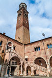 Torre dei Lamberti, Verona Royalty Free Stock Photo