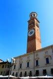 Torre dei Lamberti, Verona, Italy Royalty Free Stock Photo