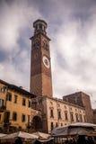 Torre dei Lamberti - Verona Stock Images