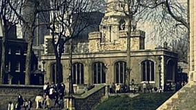 Torre dei turisti di Londra archivi video