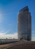 Torre del Água no parque da expo de Zaragoza Fotos de Stock Royalty Free