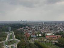 Torre del átomo en Bruselas fotografía de archivo