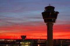 Torre del aeropuerto Imagen de archivo