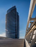 Torre del Agua in Zaragoza Expo park. Spain stock image