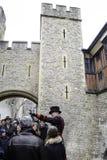 Torre del alabardero de Londres Imagen de archivo libre de regalías