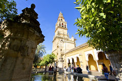 Torre del Alminar de la Mezquita en Córdoba Fotografía de archivo libre de regalías