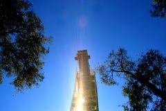 Torre del amortiguador auxiliar Foto de archivo libre de regalías