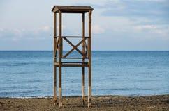 Torre del bagnino Immagini Stock Libere da Diritti