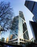 Torre del Banco de China Imagen de archivo libre de regalías