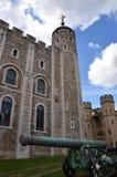Torre del cañón de Londres Fotos de archivo libres de regalías