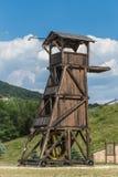 Torre del campanario o del cerco fotografía de archivo