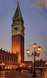 Torre del campanil Fotos de archivo