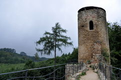 Torre del castello Fotografie Stock Libere da Diritti